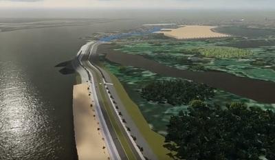Gobierno firma contrato para la construcción de la Costanera Sur