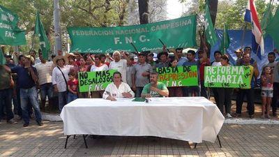 Federación Nacional Campesina levanta movilización nacional