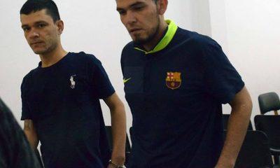 Dos condenados por robo de celular y dinero en efectivo en Hernandarias