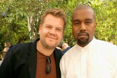 Kanye West y James Corden llevaron el carpool karaoke a los aires