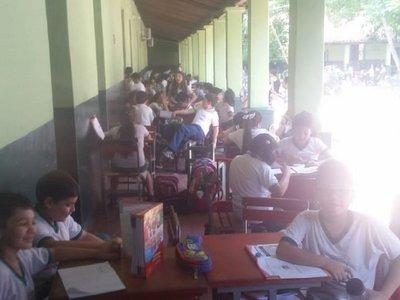 Dos escuelas de San Lorenzo sufren la falta de energía