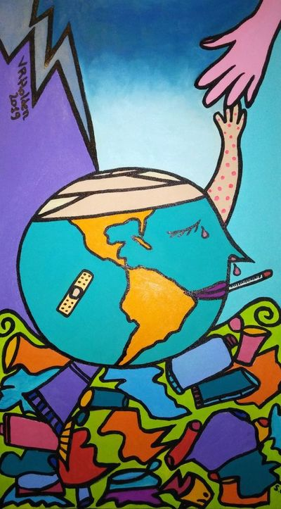 """Exposición colectiva """"Opata la mundo"""""""