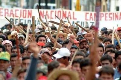 Campesinos se movilizaron de manera pacífica por segundo día consecutivo