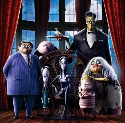 Los Locos Addams conquistan la pantalla grande