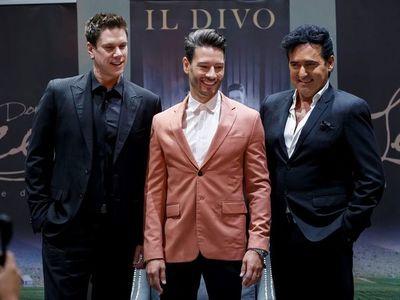 Il Divo celebra sus 15 años con un exclusivo concierto en un viñedo en México