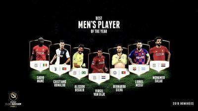 Candidatos a los Globe Soccer Awards
