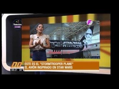 El avión inspirado en Star Wars