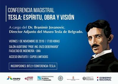 Invitan a conferencia internacional sobre el legado de Nikola Tesla