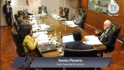 San Ignacio; el fiscal César González no fue confirmado en su cargo