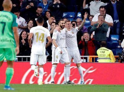 Real Madrid encuentra la tranquilidad