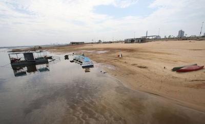 HOY / Tras inundaciones, ahora Río Paraguay sufre bajante: altura llega a 1 metro y se encienden las alarmas
