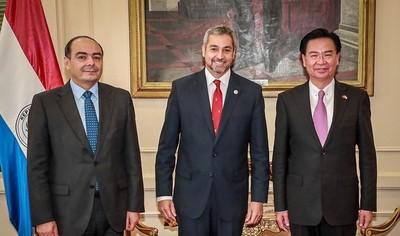 Taiwán ratifica compromiso de fortalecer vínculo bilateral con Paraguay