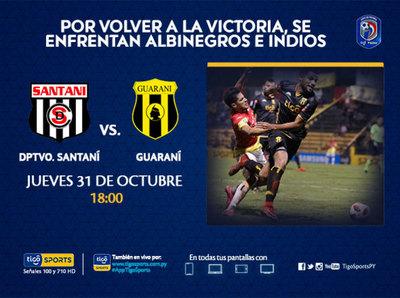 La recuperación es la meta de Santaní y Guaraní