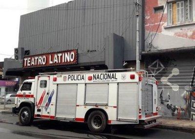 Siniestro en Teatro Latino
