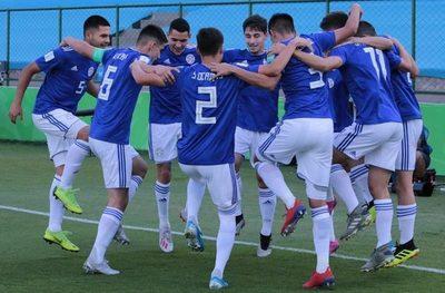 Paraguay se divierte en el Mundial y es virtual clasificado