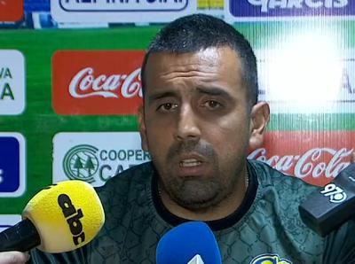 Carlos Recalde califica de positivo el empate contra San Lorenzo