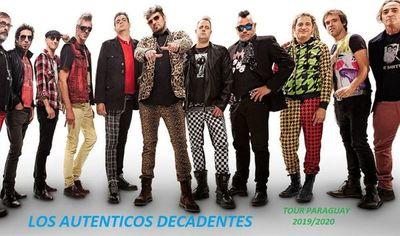 Los Auténticos Decadentes arranca su gira paraguaya