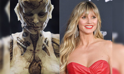 Heidi Klum, la reina de Halloween, volvió a superarse con un disfraz de Alien
