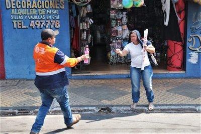 Continúa hoy la Campaña «¡Hidrátate!» en calles de Asunción