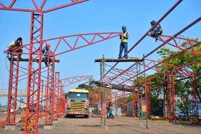 En marcha construcción de estación interurbana de ómnibus en CDE