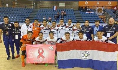 Albirrojita C13 golea y está en semifinales del Mundial