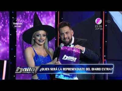 Sara Galeano y Rogelio representan al Diario Extra en el Baila 2019