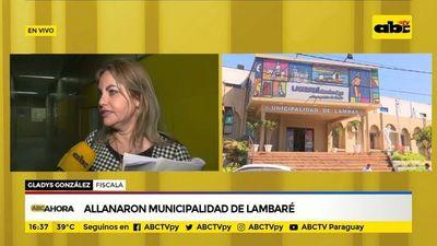 Allanaron Municipalidad de Lambaré