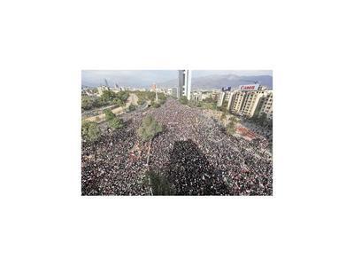 Chilenos toman las calles para mostrar su descontento