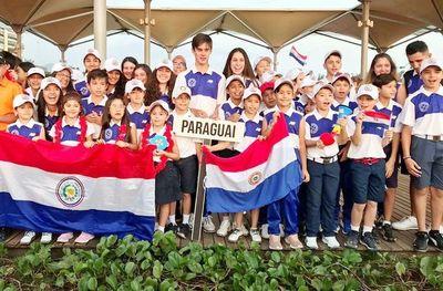 Frondosa delegación de menores en Río de Janeiro