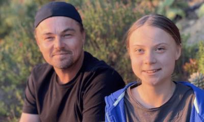 Leonardo DiCaprio y Greta Thunberg se unen para salvar al planeta