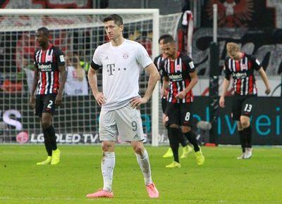 Desastre del Bayern en Fráncfort