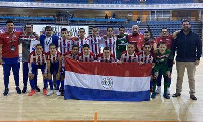 Paraguay golea y es finalista del Mundial de Futsal C13