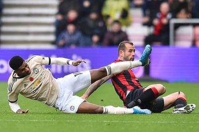 El United cayó en Bournemouth