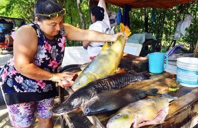 Venta de pescado fresco,  hasta hoy