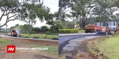 INMINENTE INICIO DE REPARACIÓN DE LA RUTA 1 TRAMO ENCARNACIÓN- SAN JUAN BAUTISTA