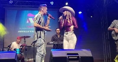 MarilinaBogado hizo a un lado la polémica y anunció nueva canción con Will Fretes