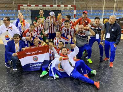 Paraguay es campeón del mundo en salonismo Sub-13
