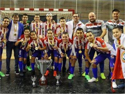 Paraguay campeón Mundial  C13