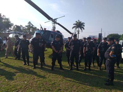 Preparan operativos policiales en Amambay