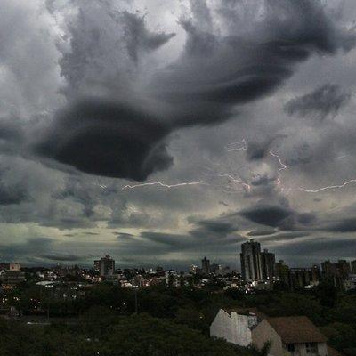 11 departamentos en alerta ante posible temporal severo