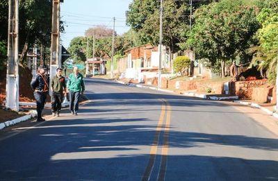 Región Oriental sumará 200 km de nuevos asfaltados para conectar a más distritos
