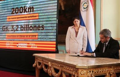 Oficializan crédito del BID para construir defensa costera de Pilar y el Gran Hospital del Sur