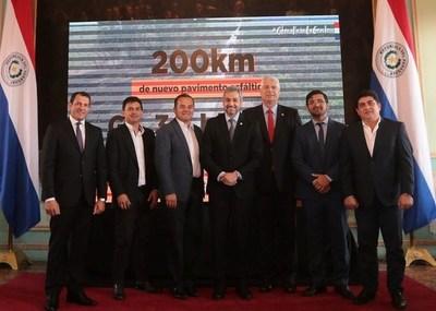 Anuncian 200 km de nuevos asfaltados para conectar a más distritos de la Región Oriental