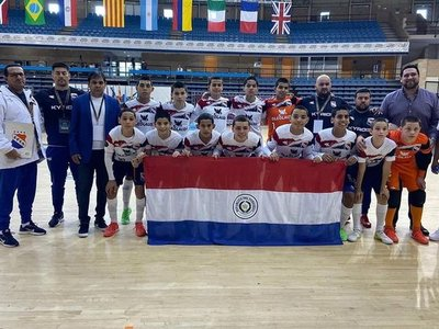Paraguay campeón del mundo en fútbol de salón C13: 'Los chicos demostraron que están para grandes cosas'