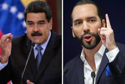 Bukele vs Maduro: La polémica pelea tuitera que desató aplausos y repudio