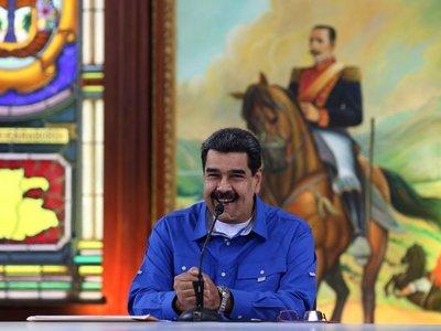 Maduro adelanta los festejos de Navidad en Venezuela