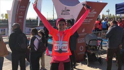 Primera paraguaya en correr Maratón de Estambul