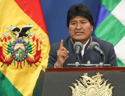 """Helicóptero de Evo Morales sufre """"falla mecánica"""" al despegar en Bolivia"""