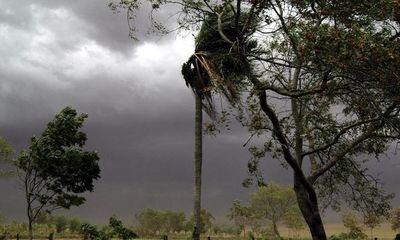 Intensa precipitación en el sur del país