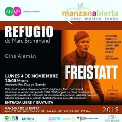 """Proyectan """"Refugio"""" en la Manzana de la Rivera"""